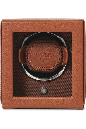 WOLF Mænd Ure - Cub Single Winder With Cover Cognac