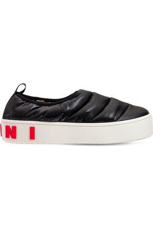 Marni Mænd Casual sko - Nylon Slip-on Low Sneakers