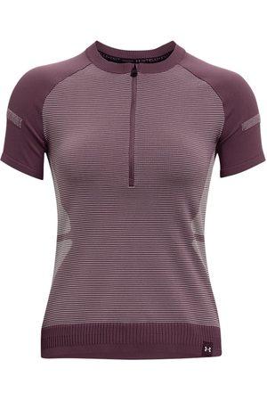 Under Armour Women's UA IntelliKnit ¼ Zip Short Sleeve