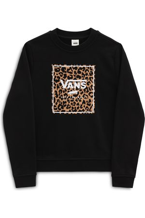 Vans Piger Sweatshirts - Sweatshirt 'GR LEOPARD BOX CREW