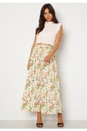 Object Lorena Long Skirt Sandshell AOP Alba