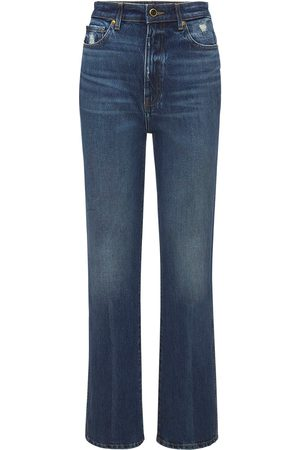 Khaite Kvinder High waist - Danielle High Waist Straight Denim Jeans