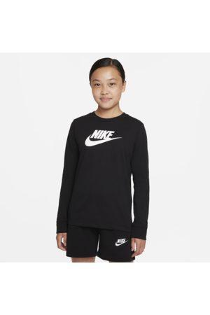Nike Piger Træning t-shirts - Langærmet Sportswear-T-shirt til større børn (piger)