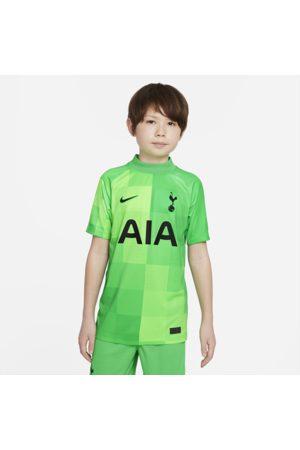 Nike Tottenham Hotspur 2021/22 Stadium Goalkeeper-fodboldtrøje til større børn
