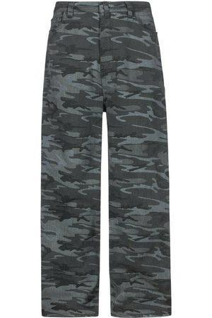 Balenciaga Mænd Kassebukser - Wide Leg Camouflage Jeans