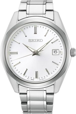 Seiko Mænd Ure - Sapphire 40mm Steel Silver Dial