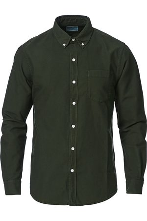Colorful Standard Mænd Business skjorter - Classic Organic Oxford Button Down Shirt Hunter Gree