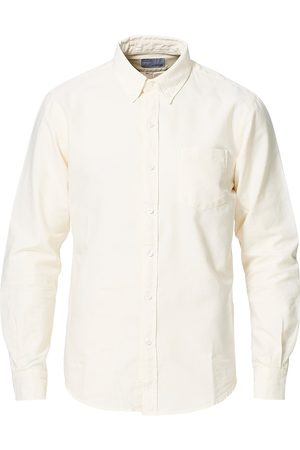 Colorful Standard Mænd Business skjorter - Classic Organic Oxford Button Down Shirt Ivory White