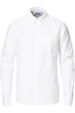 Colorful Standard Mænd Business skjorter - Classic Organic Oxford Button Down Shirt White