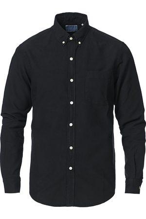 Colorful Standard Mænd Business skjorter - Classic Organic Oxford Button Down Shirt Deep Black