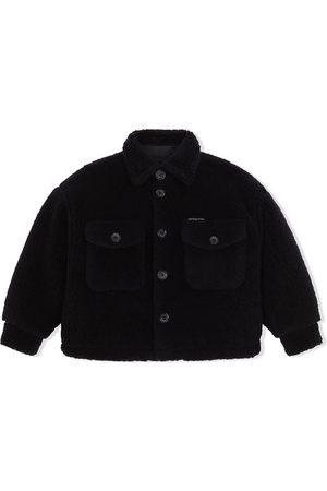 Dolce & Gabbana Piger Vinterfrakker - Teddy-frakke med knapper