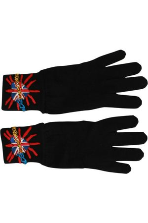 Dolce & Gabbana Mænd Handsker - #DGLovesLondon Embroidered Gloves