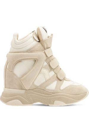 Isabel Marant Kvinder Sneakers - 60mm Balskee Suede & Leather Sneakers