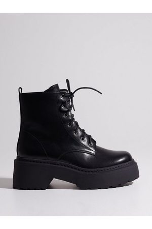 NLY Low Shaft Biker Boot Flat Boots