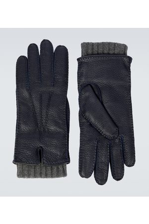 Loro Piana Stirling leather gloves