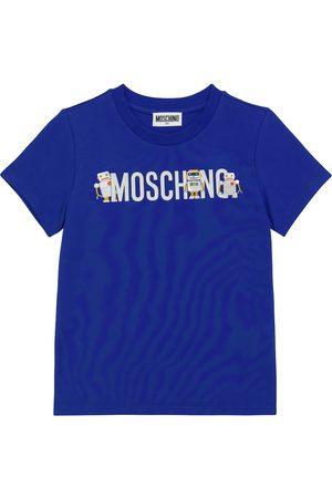 Moschino Logo stretch-cotton jersey T-shirt