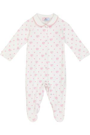 MONNALISA X Chiara Ferragni baby cotton jersey onesie