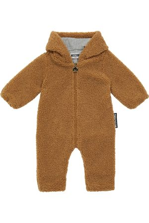 Moschino Onesies - Baby faux shearling onesie