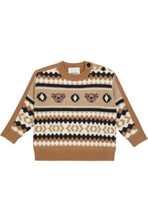 Burberry Baby wool-blend sweater