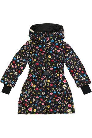 MONNALISA Piger Vinterfrakker - Floral padded coat