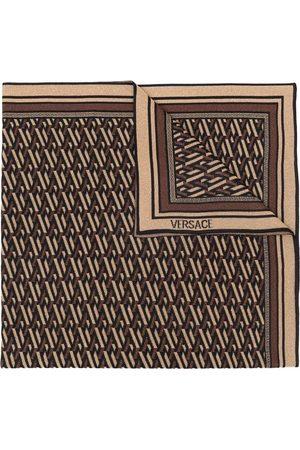VERSACE Tørklæder - Strikket tørklæde med monogram