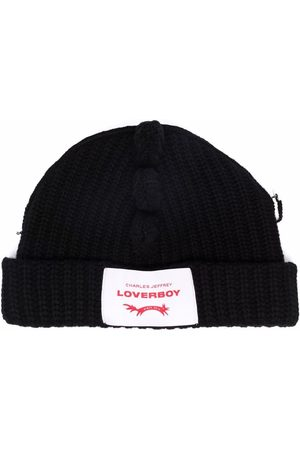 Charles Jeffrey Loverboy Huer - Chunky Spikes knitted beanie
