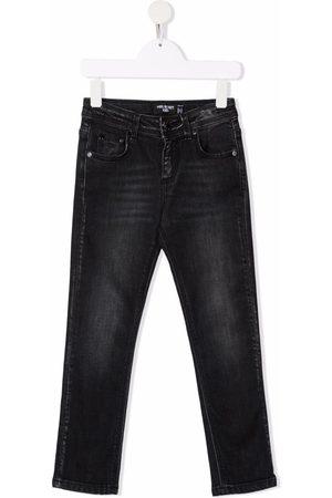 Neil Barrett Drenge Jeans - Jeans med falmet effekt og mellemhøj talje