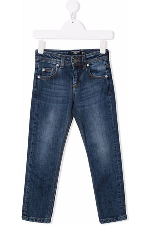 Neil Barrett Drenge Straight - Jeans med lige ben og falmet effekt