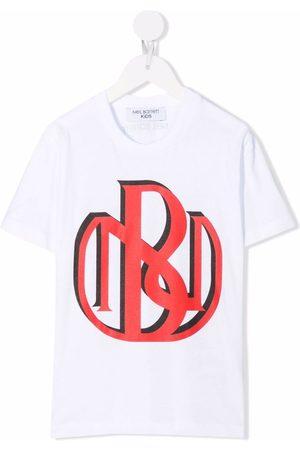 Neil Barrett Drenge Kortærmede - T-shirt med logotryk