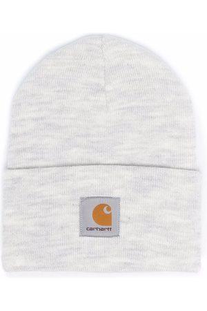 Carhartt Mænd Huer - Logo-patch knitted beanie