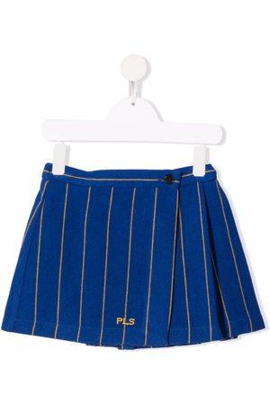 PHILOSOPHY DI LORENZO SERAFINI Piger Nederdele - Kort nålestribet nederdel