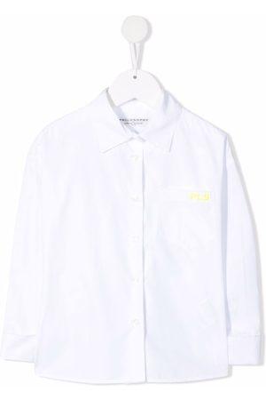 PHILOSOPHY DI LORENZO SERAFINI Skjorte med broderet logo