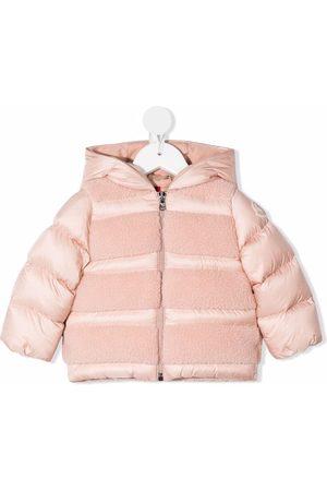 Moncler Piger Outdoorjakker - Hooded padded jacket