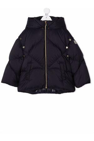 Moncler Drenge Outdoorjakker - Logo-patch padded jacket