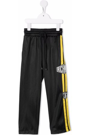 John Richmond Junior Drenge Bukser - Drawstring logo-patch track pants