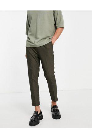 ASOS DESIGN Mænd Chinos - Super skinny elegante bukser i mikrotekstur