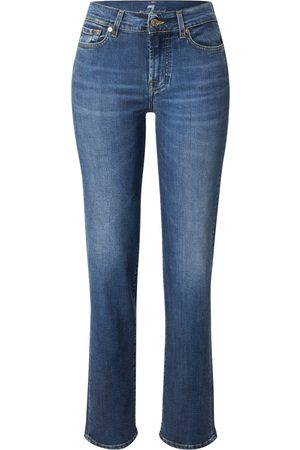 7 for all Mankind Kvinder Straight - Jeans 'THE STRAIGHT