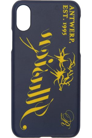 RAF SIMONS Mobil Covers - Navy 'Illusion' iPhone X Case