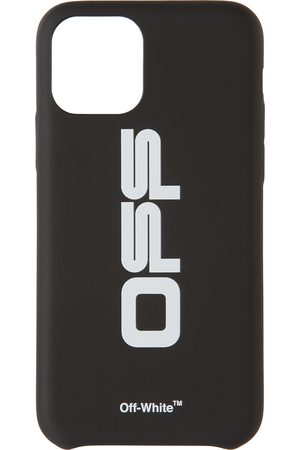 OFF-WHITE Mobil Covers - Black & White Wavy Logo iPhone 11 Pro Case