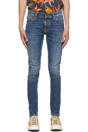 Nudie Jeans Mænd Skinny - Blue Tight Terry Jeans