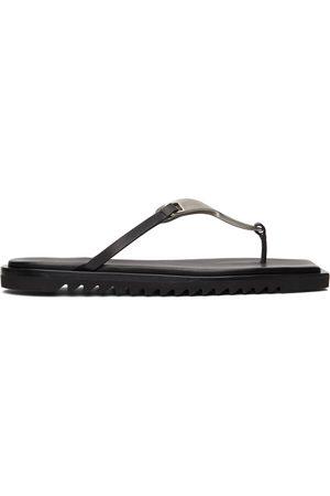 Rick Owens Black Hydra Sandals