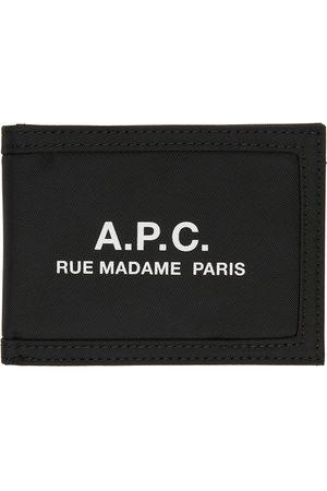 A.P.C. Black Nylon Recuperation Wallet