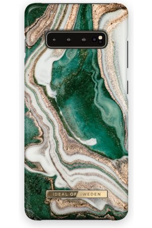 Ideal of sweden Fashion Case Galaxy S10+ Golden Jade Marble