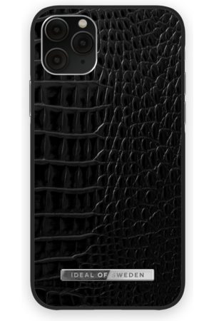 Ideal of sweden Mobil Covers - Atelier Case iPhone 11 Pro Neo Noir Croco Silver