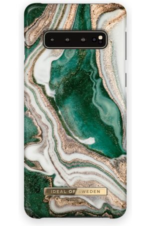Ideal of sweden Mobil Covers - Fashion Case Galaxy S10 Golden Jade Marble