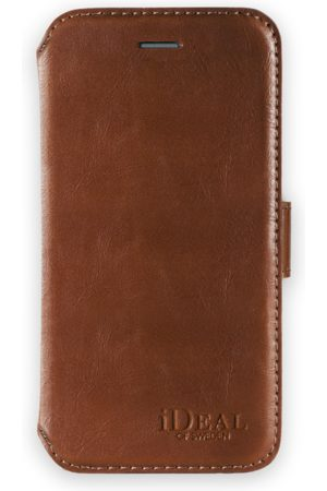 Ideal of sweden Mobil Covers - Slim Magnet Wallet iPhone 8 Plus Brown