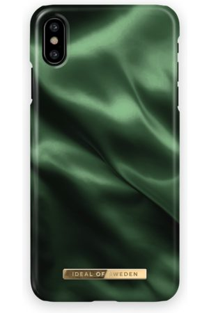 Ideal of sweden Mobil Covers - Fashion Case iPhone X Emerald Satin