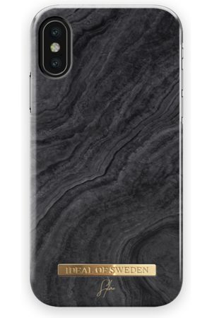 Ideal of sweden Mobil Covers - Fashion Case Sylvie Meis iPhone X Black Reef Marble