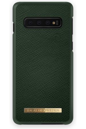 Ideal of sweden Saffiano Case Galaxy S10+ Green