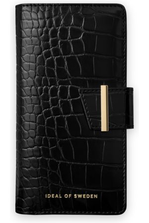 Ideal of sweden Mobil Covers - Cora Phone Wallet Galaxy S20 Plus Jet Black Croco